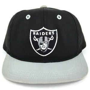 Vintage NFL Oakland Raiders Toddler Snapback Hat